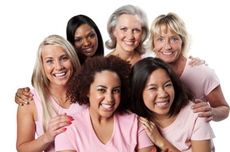 Group of women in menopause