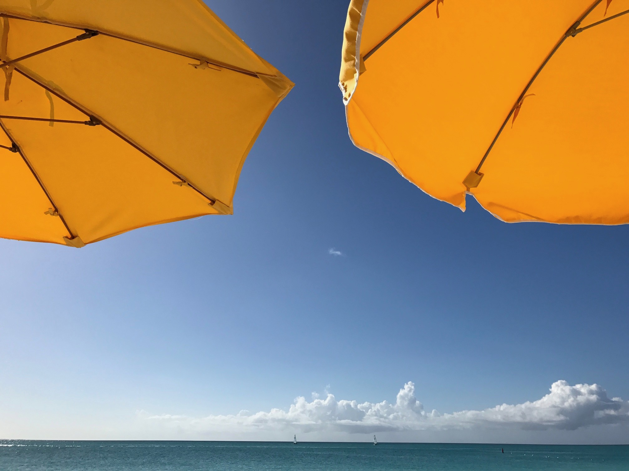 TCI Beach Umbrellas