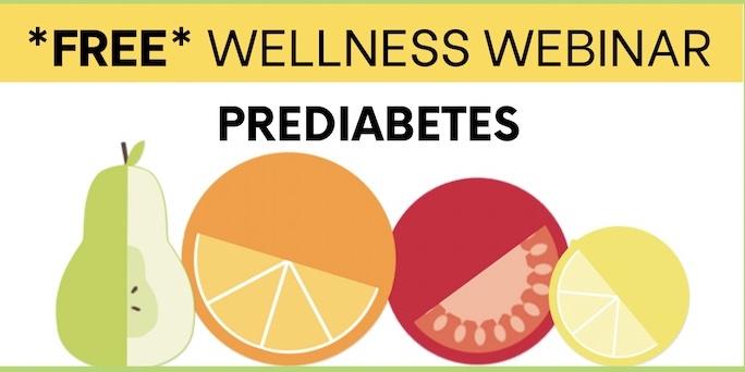Free webinar prediabetes